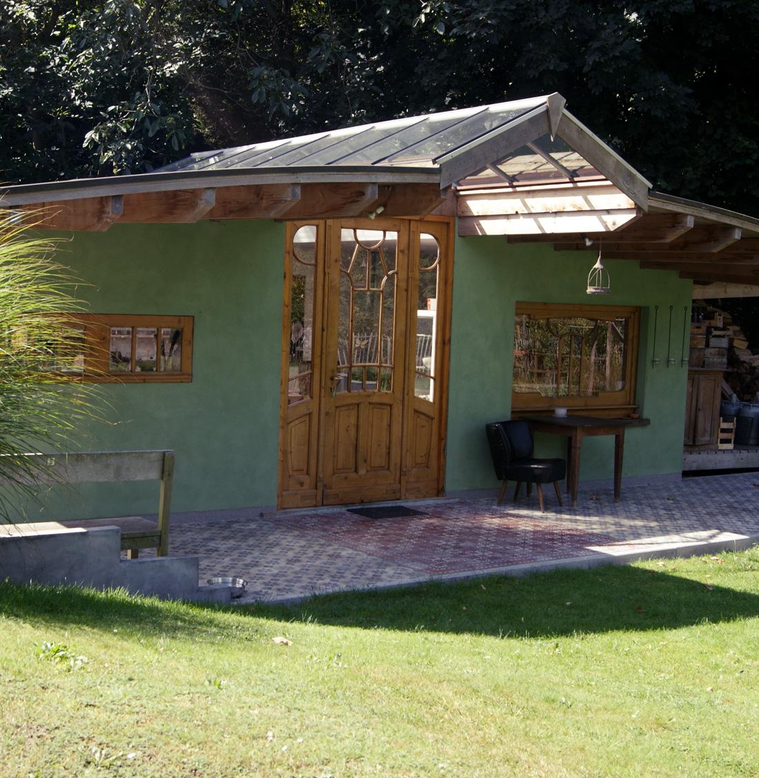 L'atelier de Hilde Evenepoel en plein été